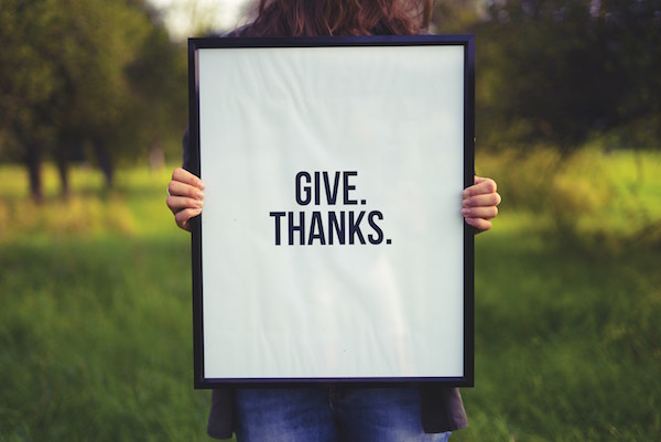 "picture of ""Give Thanks """