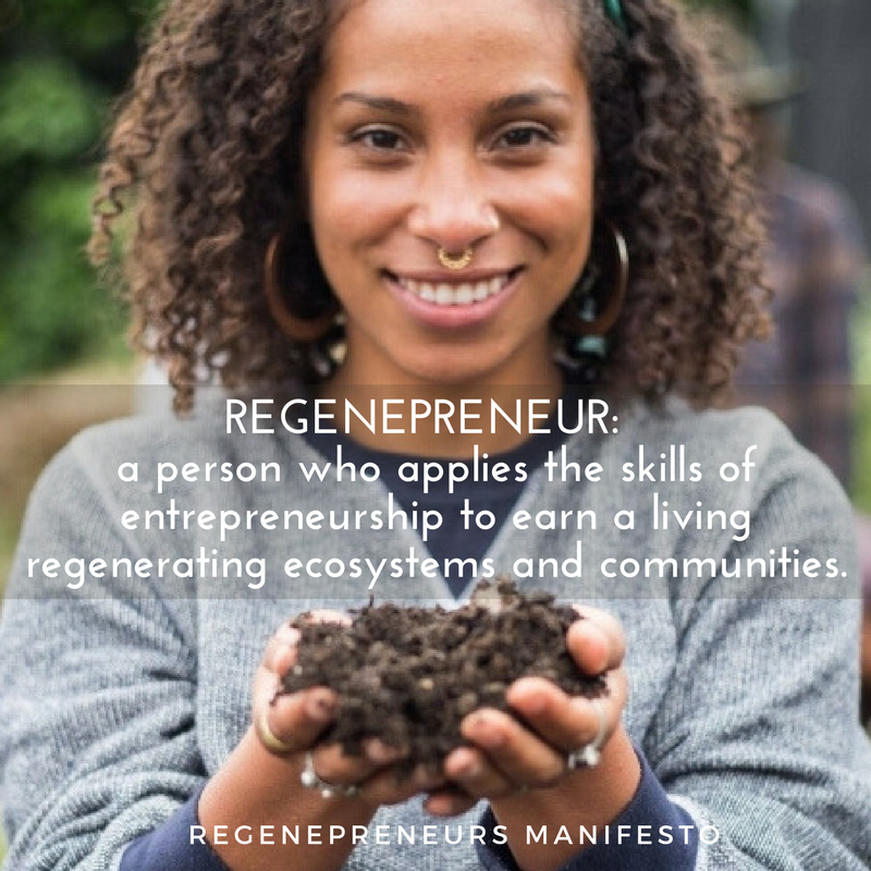 REGENEPRENEUR definition