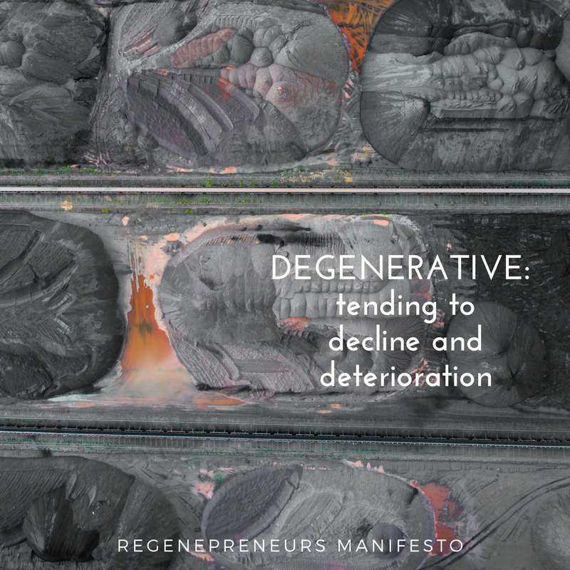 Degenerative (with Manifesto)