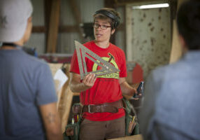 Maria of Hammerstone Carpentry for Women